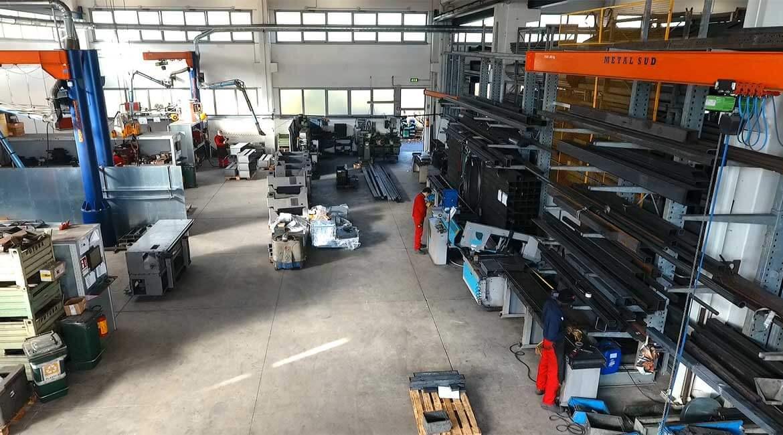 Carpenteria Meccanica e Taglio: Metalstar 2000